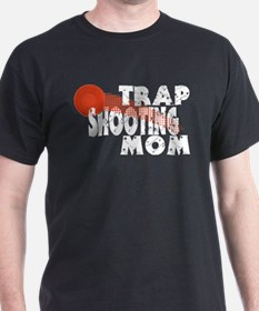 Trap Shooting Mom T-Shirt
