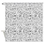 Foxtrot Collage Shower Curtain