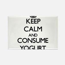 Keep calm and consume Yogurt Magnets