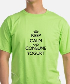 Keep calm and consume Yogurt T-Shirt