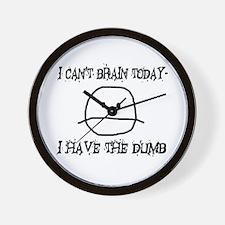 I Have The Dumb Wall Clock