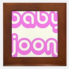 BABY JOON Framed Tile