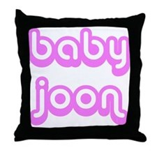 BABY JOON Throw Pillow