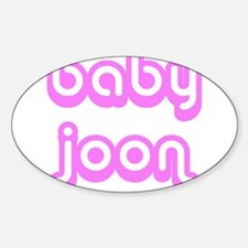 BABY JOON Oval Decal