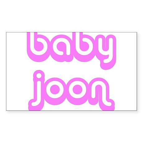 BABY JOON Rectangle Sticker