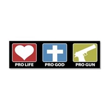 Cool God Car Magnet 10 x 3