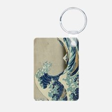 The Great Wave off Kanagaw Keychains