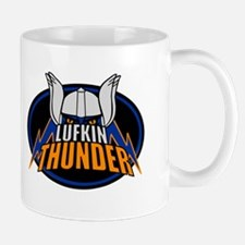 Lukfin Thunder Black Logo Mugs