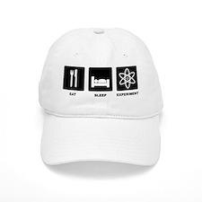 Eat Sleep Experiment Baseball Baseball Cap