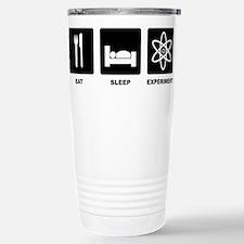 Eat Sleep Experiment Travel Mug