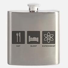 Eat Sleep Experiment Flask