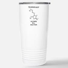 Alcohol, A Solution Travel Mug