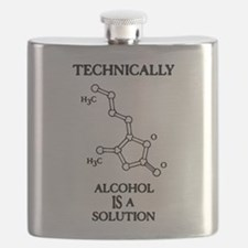 Alcohol, A Solution Flask