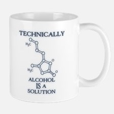 Alcohol, A Solution Mug