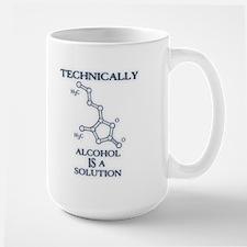 Alcohol, A Solution Mug