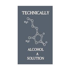 Alcohol, A Solution Decal