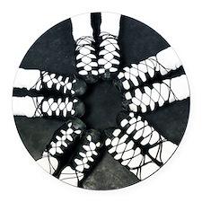 Irish Dance Ghillies Ring Round Car Magnet