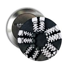"Irish Dance Ghillies Ring 2.25"" Button"