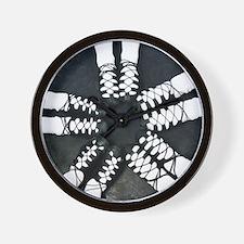 Irish Dance Ghillies Ring Wall Clock