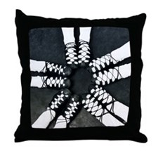 Irish Dance Ghillies Ring Throw Pillow