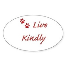 Live Kindly Decal