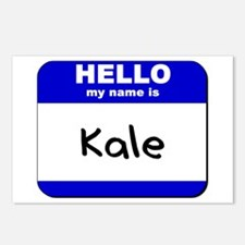 hello my name is kale  Postcards (Package of 8)