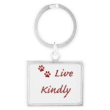 Live Kindly Keychains