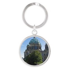 Berlin001 Round Keychain