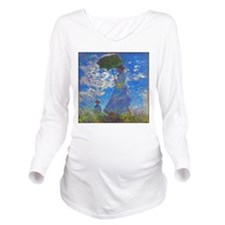 Monet - Woman with a Parasol Long Sleeve Maternity