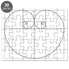 Golden Ratio Heart Puzzle