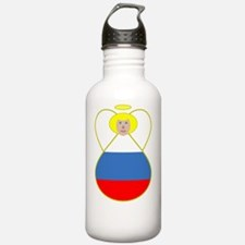Small Russian Flag Ang Water Bottle