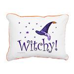 Witchy Rectangular Canvas Pillow