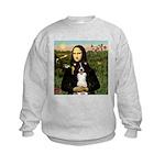 Mona & Border Collie Kids Sweatshirt