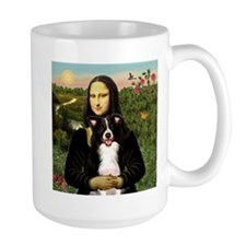 Mona & Border Collie Mug