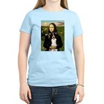 Mona & Border Collie Women's Light T-Shirt