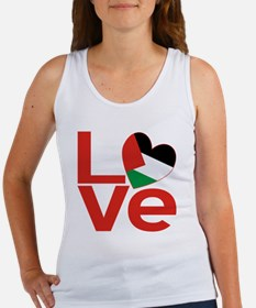 Red Palestinian LOVE Women's Tank Top