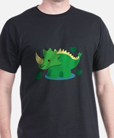 Cute green Dinosaur T-Shirt