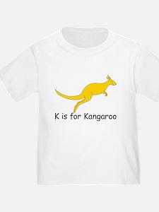 K is for Kangaroo T