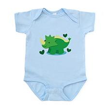 Cute green Dinosaur Body Suit
