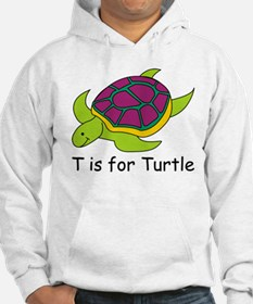 T is for Turtle Hoodie