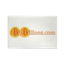 Cute Bitcoin Rectangle Magnet (10 pack)