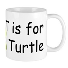 T is for Turtle Mug