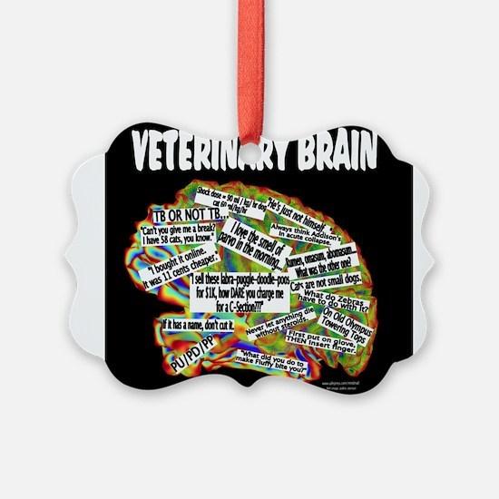 vet brain Ornament