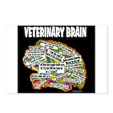 vet brain Postcards (Package of 8)