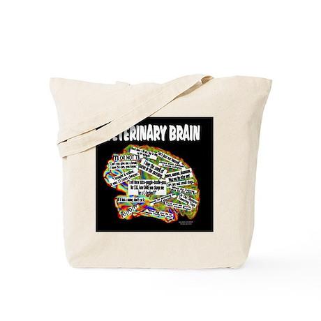 vet brain Tote Bag