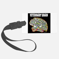 vet brain Luggage Tag