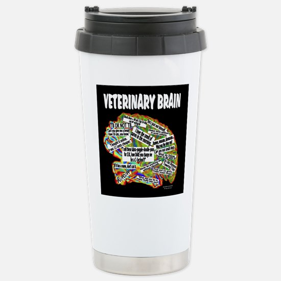 vet brain Travel Mug
