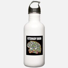 vet brain Water Bottle