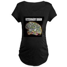 vet brain Maternity T-Shirt