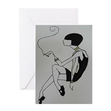 time of elegance Greeting Cards
